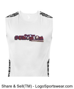 Get Ur CHOP ON Sleeveless Tight Tee Design Zoom